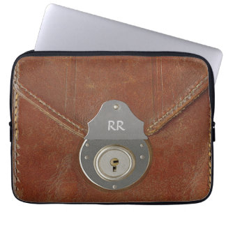Old Document Case  Effect On Laptop Sleeve