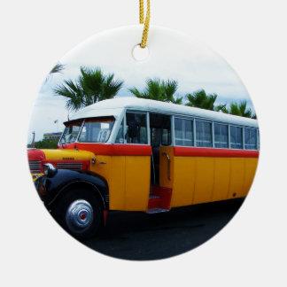 Old Dodge Bus. Ceramic Ornament