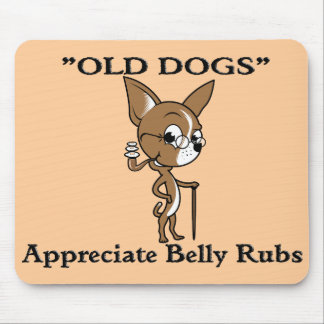 """""""OLD DOG"""" Logo with Sayin' Mouse Pad"""