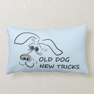 Old dog new tricks. lumbar pillow