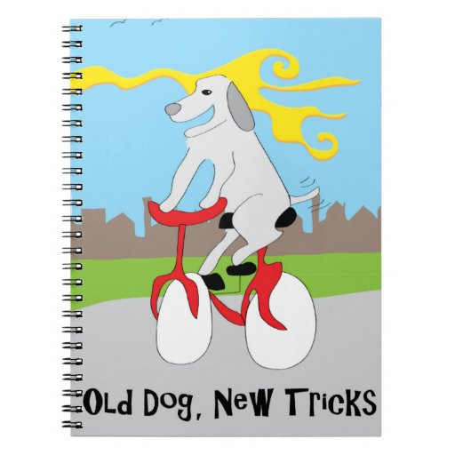 Old Dog New Tricks - Paw of Attraction Note Books