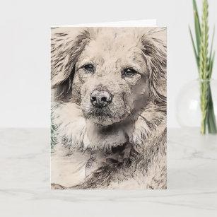 Sad Puppy Dog Eyes Cards Zazzle