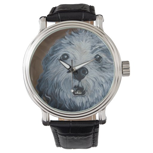 Old Dogs are the Best Dogs Wrist Watch