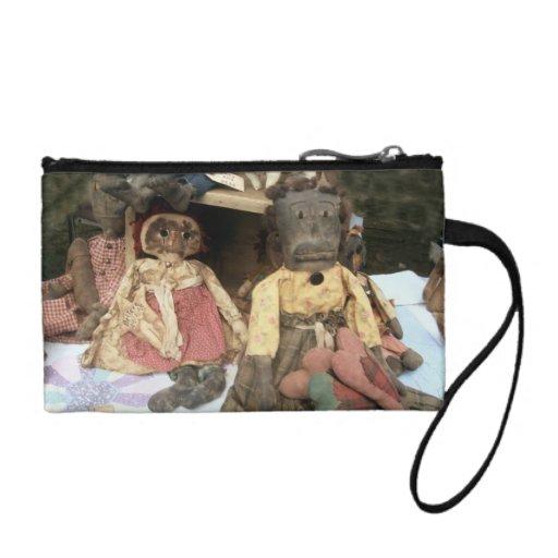 Old Dolls Baggette-Custom Coin Wallet