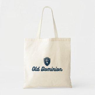Old Dominion   Monarchs Script Logo Tote Bag
