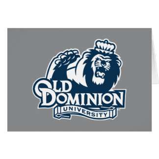Old Dominion University Logo Card