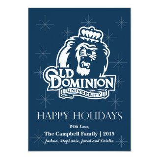 Old Dominion University Logo Card