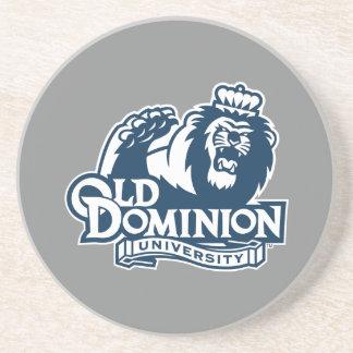 Old Dominion University Logo Drink Coaster