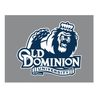 Old Dominion University Logo Postcard