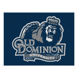Old Dominion University Logo Poster