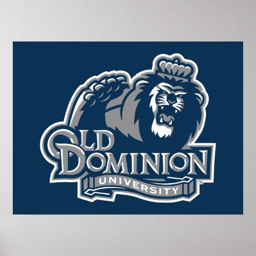 Old Dominion University Logo Poster