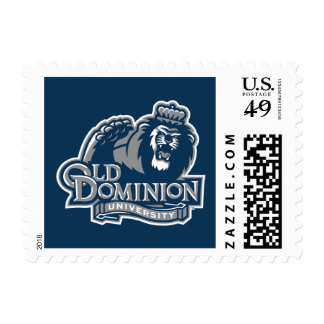 Old Dominion University Logo Stamp