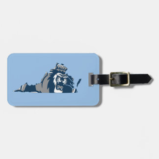 Old Dominion University Mascot Luggage Tag