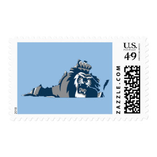 Old Dominion University Mascot Postage Stamp