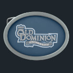 "Old Dominion University Oval Belt Buckle<br><div class=""desc"">Check out these official Old Dominion University products on Zazzle.com! All of these products are customizable with your name, class year, club, or sport. They make the perfect gift for the ODU student, alumni, family, friend, or fan in your life. Support the Monarchs and show off your ODU pride by...</div>"