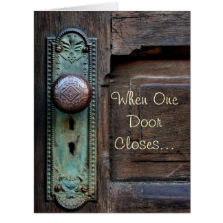 Old Door Knob - Cards