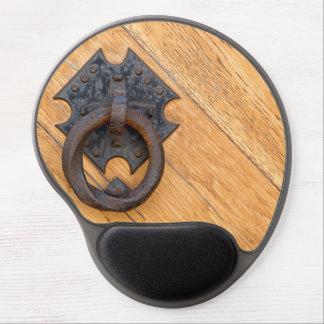Old door knocker gel mouse pad