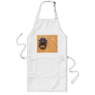 Old door knocker long apron