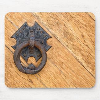 Old door knocker mouse pad