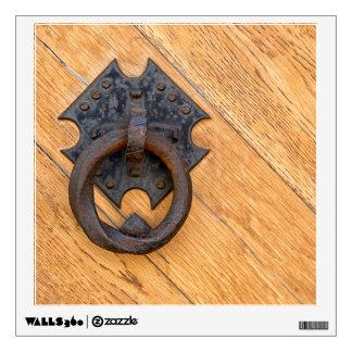 Old door knocker wall sticker