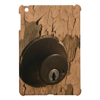 Old Door Lock Keep Out Peeling Paint Cover For The iPad Mini