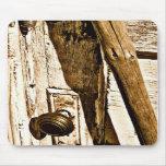 Old Door Mousepad