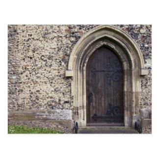 Old Door Postcard