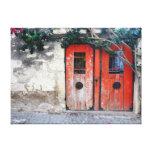 Old Door Stretched Canvas Prints