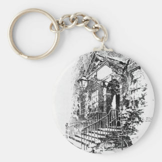 Old Doorway, Lamb Court Keychain