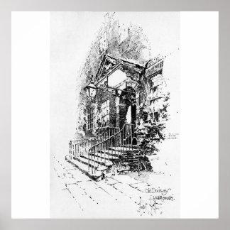 Old Doorway, Lamb Court Print