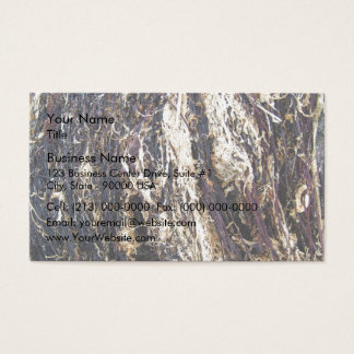Old Dry Decayed Leaves Business Card