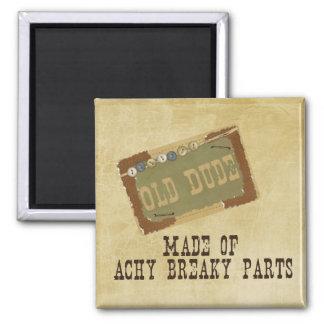 Old Dude Fridge Magnet