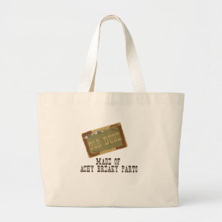 Old Dude Large Tote Bag