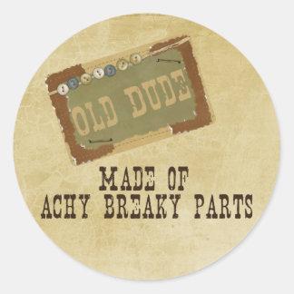 Old Dude Sticker