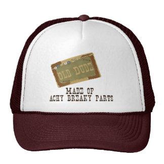 Old Dude Trucker Hat