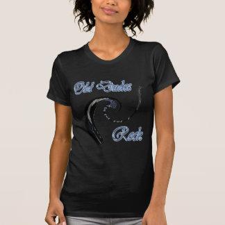 Old Dudes Rock Electric Guitar Tee Shirt