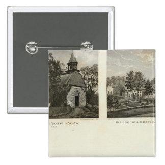 Old Dutch Church, residences Button