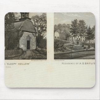 Old Dutch Church, residences Mouse Pad