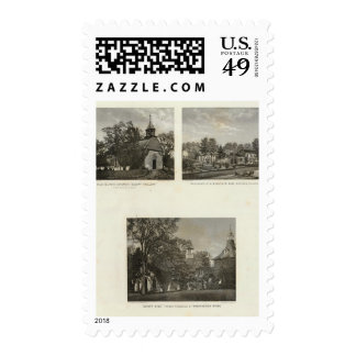 Old Dutch Church, residences Stamps