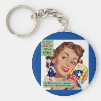 Old Dutch Cleanser lady Keychain