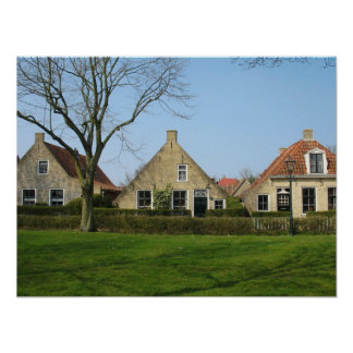 Old Dutch Houses Photo Poster Art