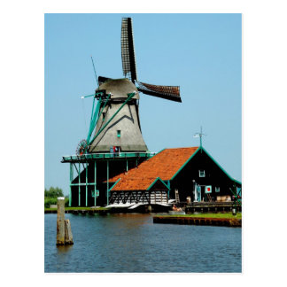 Old Dutch Windmill Postcards