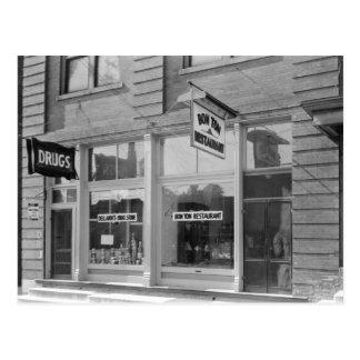 Old Dyersburg Bon Ton Resturant Postcard