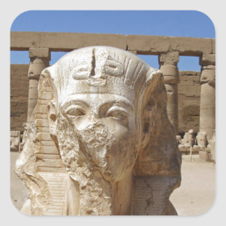 old egypt square sticker