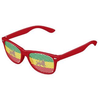 Old Ehtiopian flag Kids Sunglasses