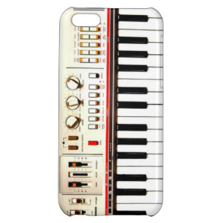Old Electric Keyboard Case For iPhone 5C