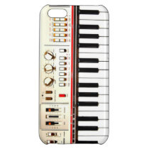 Old Electric Keyboard iPhone 5C Cover
