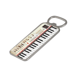 Old Electric Keyboard Magnetic Bottle Opener