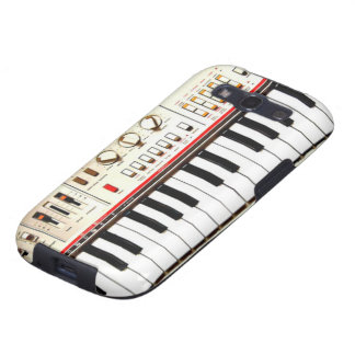 Old Electric Keyboard Samsung Galaxy S3 Cover
