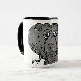 Old Elephant Mug